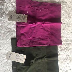 BNWT 2 pairs of Lululemon Sculpt shorts - Sz 8